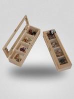 caja de insignias