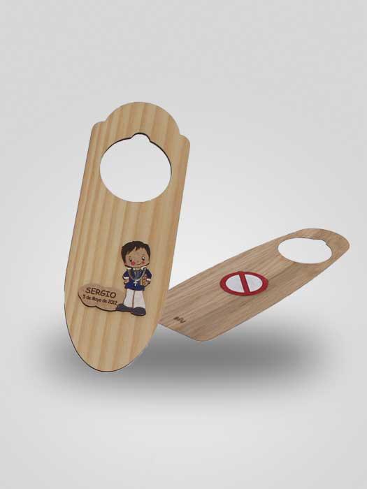 colgador puerta personalizado