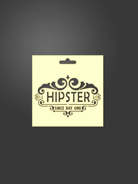 stencil hipster 0002