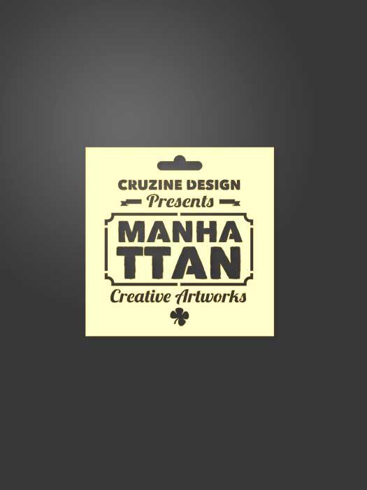 Stencil Manhattan 0006