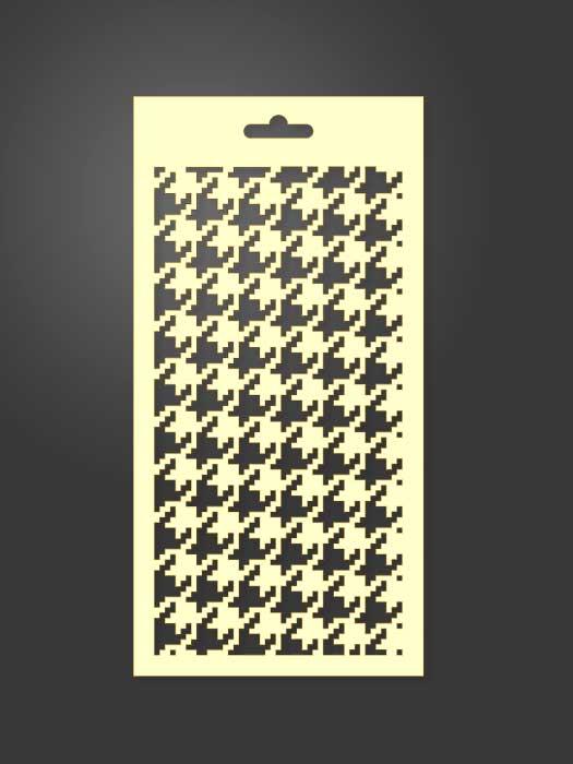 stencil geometrico 1008