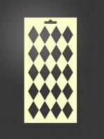 stencil geometrico 1017