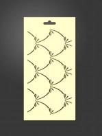 stencil ornamental 1020