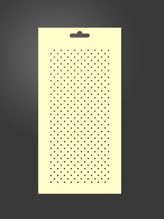 stencil geométrico 1035