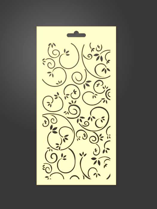stencil ornamental 1041