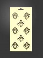 stencil ornamental 1042