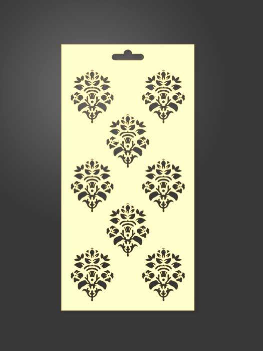 stencil ornamental 1043