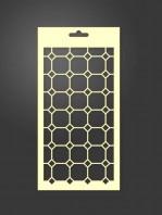 stencil geométrico 1046