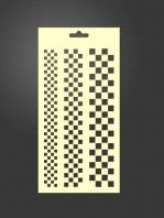 stencil cenefas geométricas 1048
