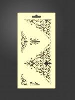 stencil ornamental 1054