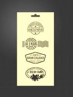 stencil etiquetas variadas 1087
