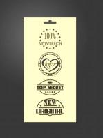 stencil etiquetas 1088