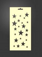 stencil estrellas 1099