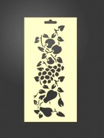 stencil frutos 1103