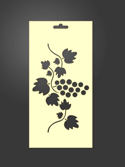 stencil uvas 1106