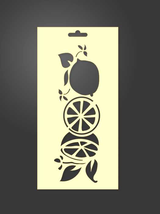 stencil limones 1107