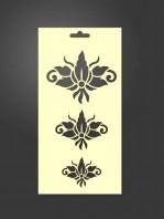 stencil ornamental 1110