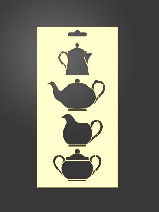 stencil útiles cocina 1129