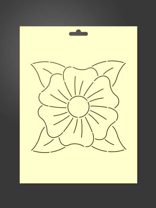 stencil flor 2002