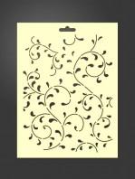 stencil fondo ornamental 2014