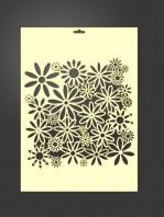 stencil flores 2024