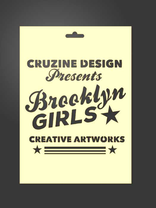 stencil cartel Brooklyn Girls 2034