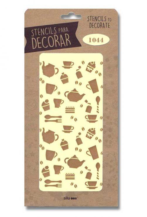 stencil articulos cocina silu 1044