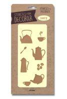 stencil articulos cocina silu 1072