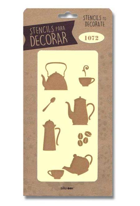 Stencil útiles cocina 1072