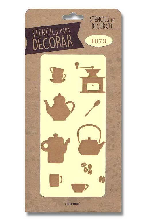 stencil articulos cocina silu 1073