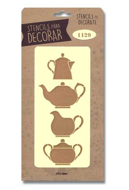 stencil articulos cocina silu 1129