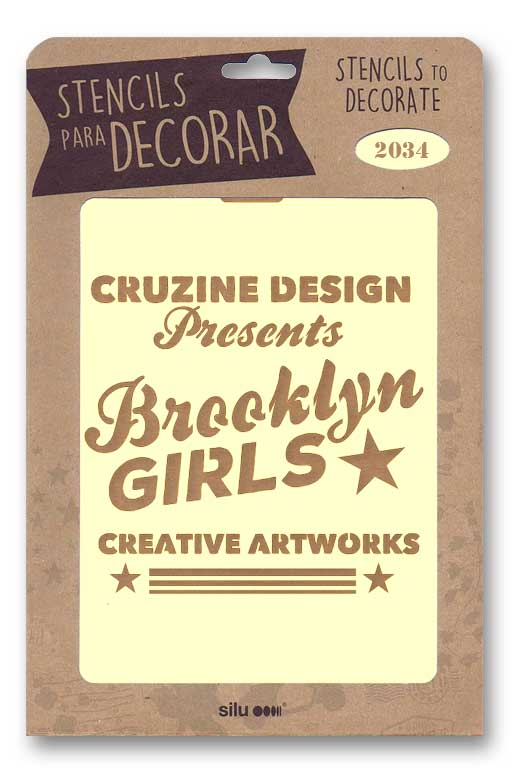 stencil cartel brooklyn girls silu 2034