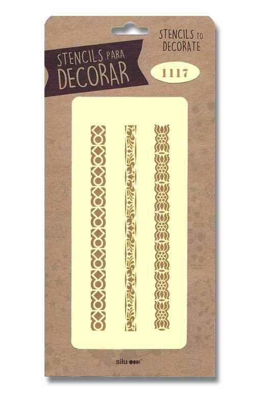 stencil cenefas silu 1117