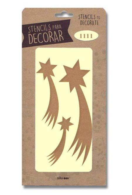 Stencil estrellas Belén 1111