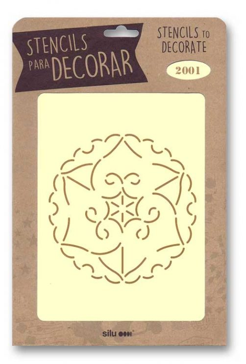 stencil flor silu 2001