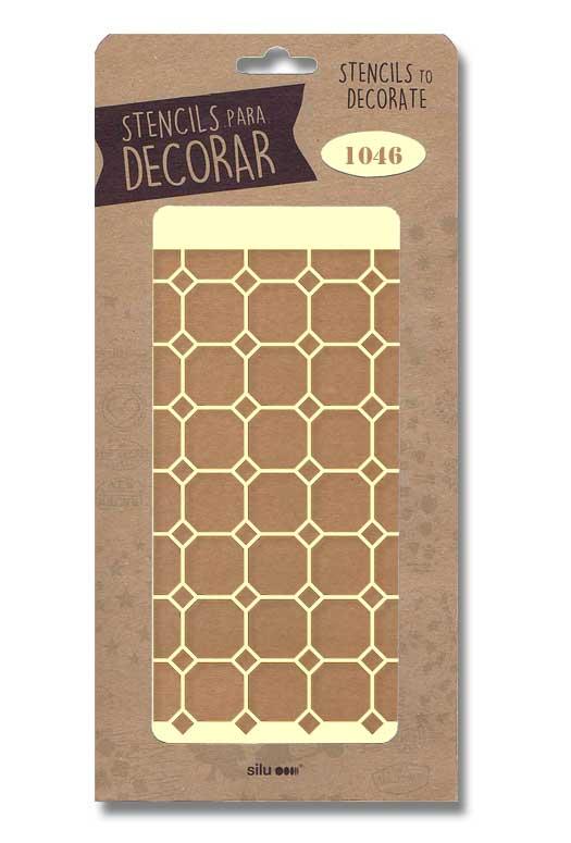stencil fondo figuras silu 1046