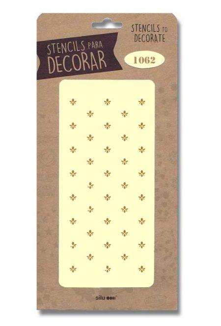 Stencil flor de lis 1062