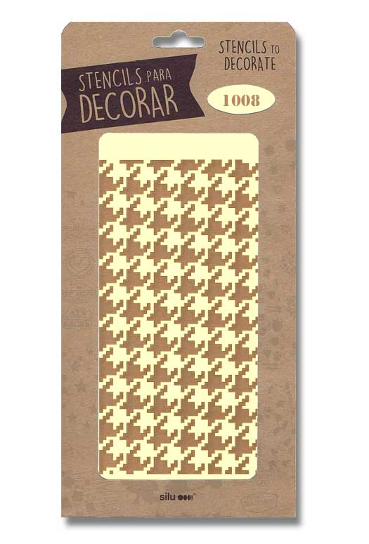 stencil fondo geometrico 1008