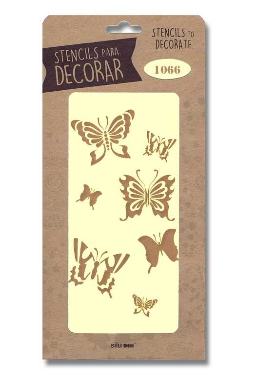 stencil mariposas silu 1066