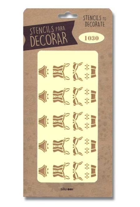 Stencil moda 1030