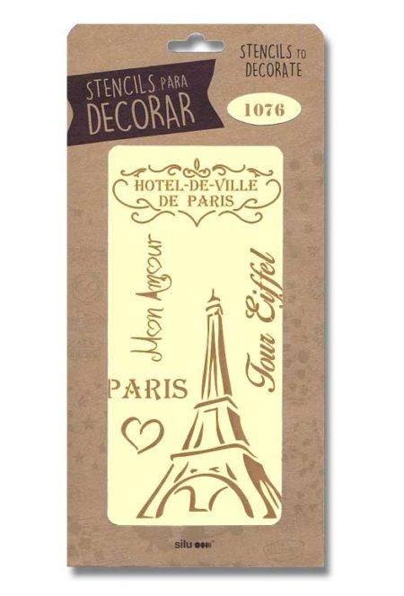 Stencil París 1076