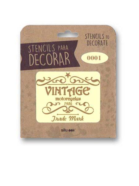 Stencil publi Vintage 0001