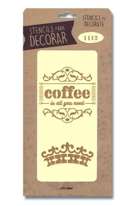 Stencil coffee 1112