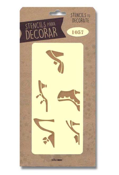 Stencil zapatos 1057