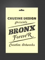 silueta stencil silu bronx forever 2035 para estarcido decoración
