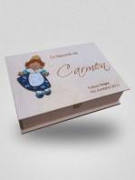 caja de recuerdos silu con marieta coloreada a mano