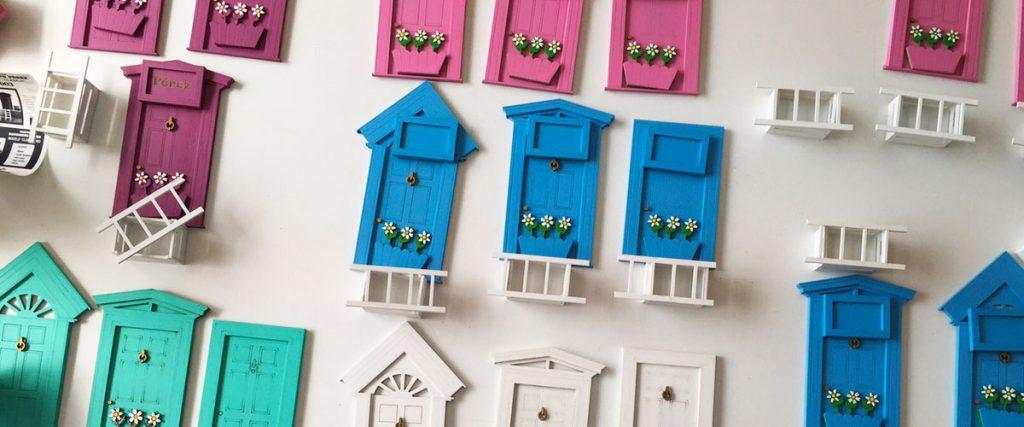 Puertas ratoncito pérez de SILU para decoración