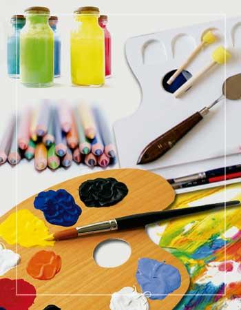 pinturas para manualidades y complementos