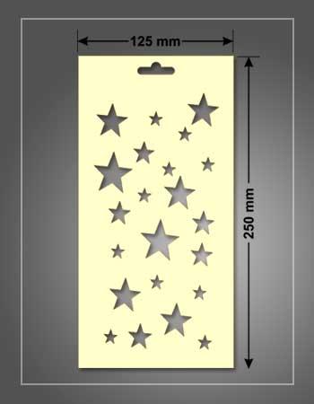 stencil para estarcido de 125 x 250