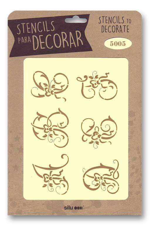 stencil letras silu 5005